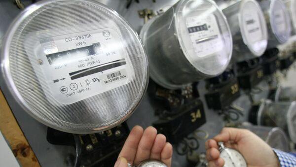 Электросчетчики, архивное фото - Sputnik Таджикистан