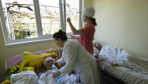 Работа психоневрологического диспансера, архивное фото - Sputnik Таджикистан