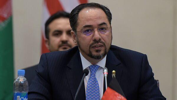 Глава МИД Афганистана Салахуддин Раббани, архивное фото - Sputnik Таджикистан