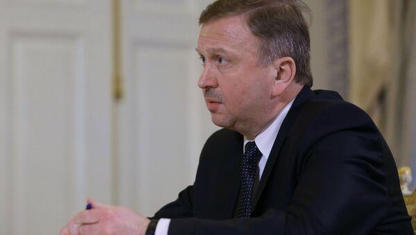 Премьер-министр Белоруссии Андрей Кобяков, архивное фото - Sputnik Таджикистан