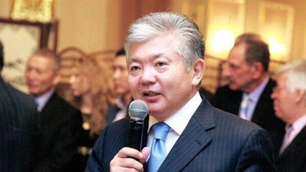 Бывший министр иностранных дел КР доктор политических наук Аликбек Джекшенкулов - Sputnik Таджикистан
