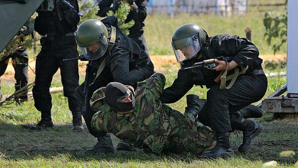 Захват террориста, архивное фото - Sputnik Таджикистан