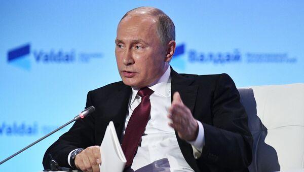 Владимир Путин-президенти Федератсияи Русия. Акс аз бойгонӣ - Sputnik Тоҷикистон