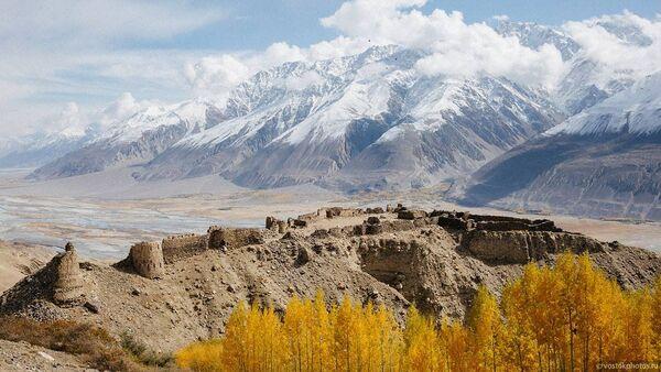 Вид на крепость Ямчун, архивное фото - Sputnik Таджикистан
