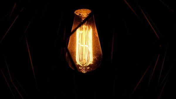 Лампа накаливания, архивное фото - Sputnik Тоҷикистон