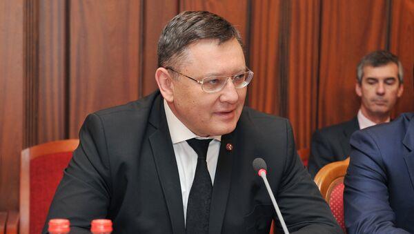 Заместитель министра внутренних дел РФ Игорь Зубов, архивное фото - Sputnik Тоҷикистон