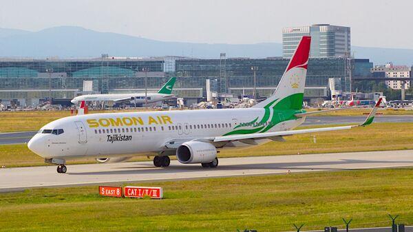 Боинг 737 авиакомпании Сомон Эйр, архивное фото - Sputnik Тоҷикистон