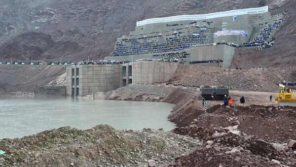 На Рогунской ГЭС, архивное фото - Sputnik Таджикистан