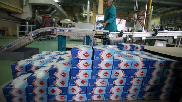 Работа сахарного завода, архивное фото - Sputnik Тоҷикистон