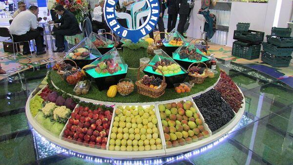 Международная плодоовощная ярмарка в Ташкенте - Sputnik Таджикистан