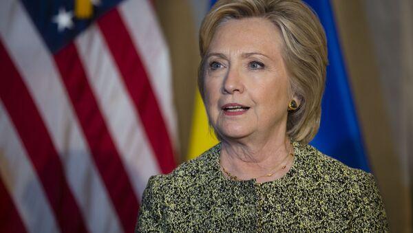 Хиллари Клинтон, архивное фото - Sputnik Тоҷикистон
