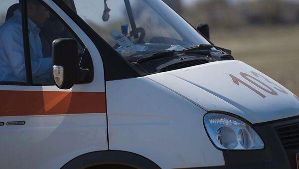 Машина скорой помощи, архивное фото - Sputnik Таджикистан