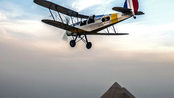 Воздушное ралли Vintage Air Rally в Египте - Sputnik Таджикистан