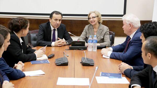 Церемония открытия краткосрочных дипломатических курсов для сотрудников центрального аппарата МИД РТ - Sputnik Таджикистан