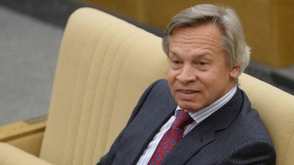 Алексей Пушков, архивное фото - Sputnik Таджикистан