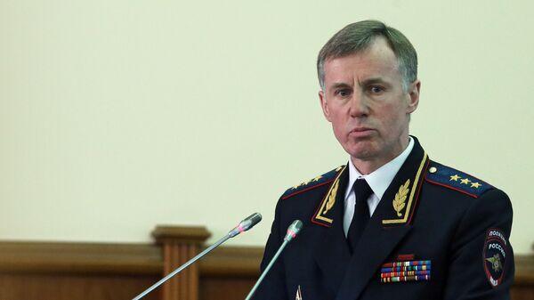 Первый заместитель министра внутренних дел РФ Александр Горовой, архивное фото - Sputnik Таджикистан