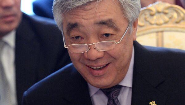 Министр иностранных дел Казахстана Ерлан Идрисов, архивное фото - Sputnik Таджикистан