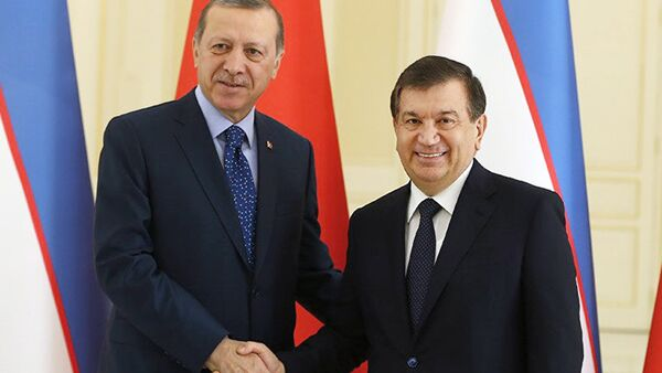 Визит президента Турции в Узбекистан - Sputnik Таджикистан