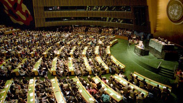 Сессия Генеральной ассамблеи ООН - Sputnik Таджикистан