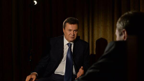Бывший президент Украины Виктор Янукович, архивное фото - Sputnik Тоҷикистон