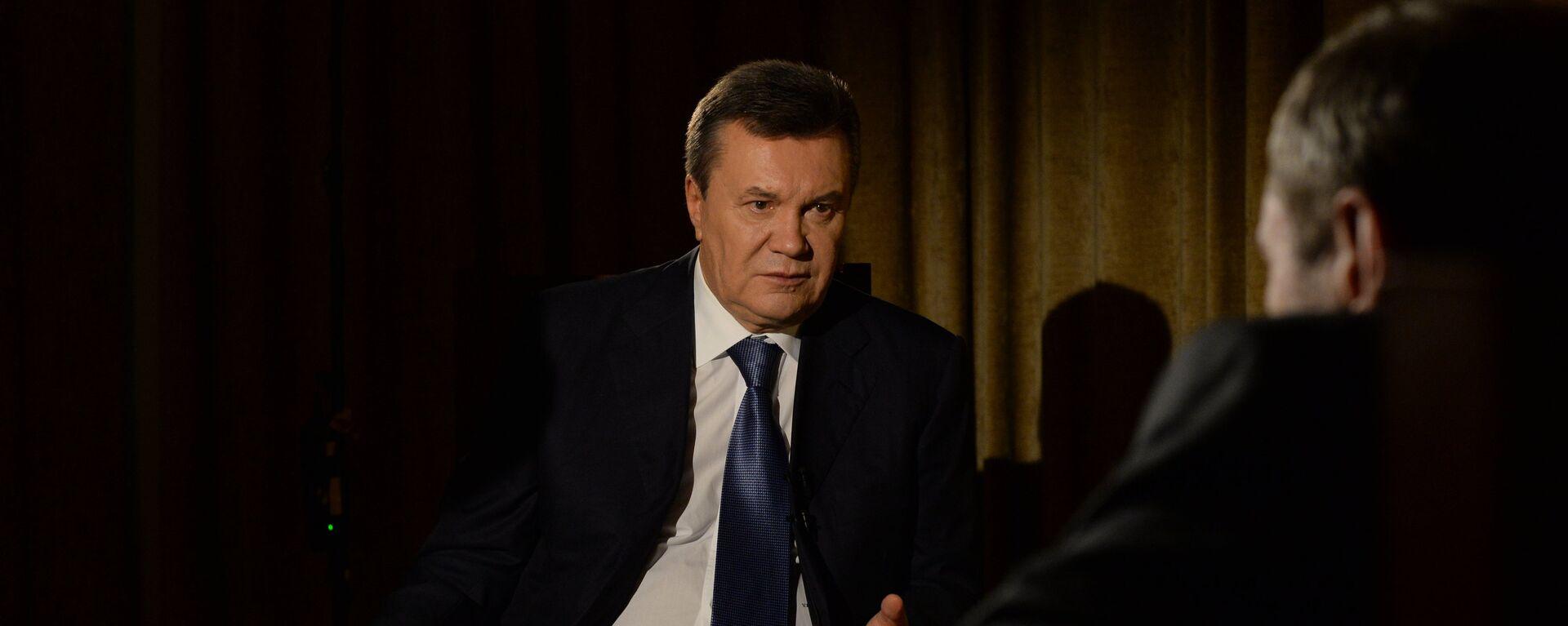Бывший президент Украины Виктор Янукович, архивное фото - Sputnik Тоҷикистон, 1920, 18.08.2021