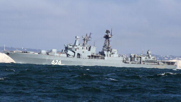 Большой противолодочный корабль Вице-адмирал Кулаков, архивное фото - Sputnik Таджикистан