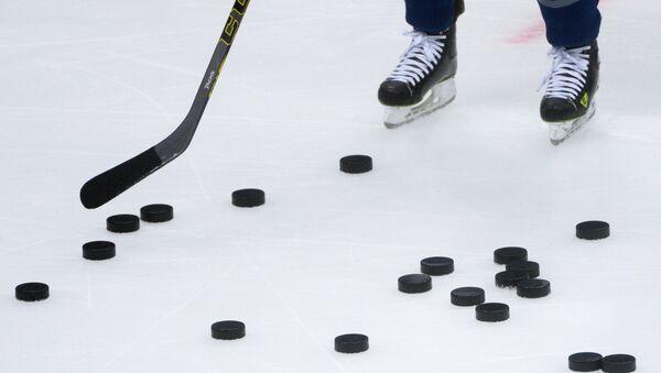 Хоккейный матч, архивное фото - Sputnik Таджикистан