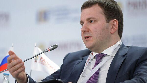 Глава Минэкономразвития РФ Максим Орешкин, архивное фото - Sputnik Таджикистан