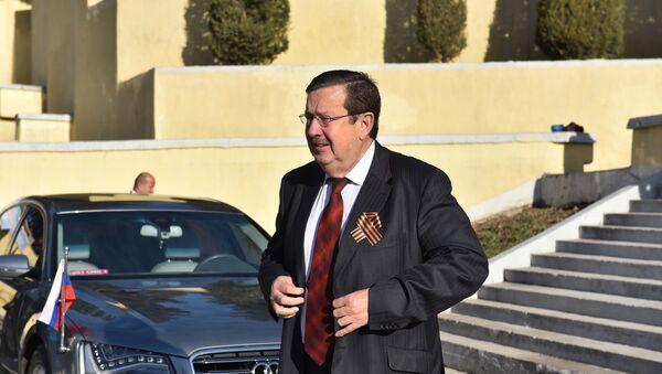 Чрезвычайный и полномочный посол РФ в Таджикистане Игорь Лякин-Фролов - Sputnik Таджикистан