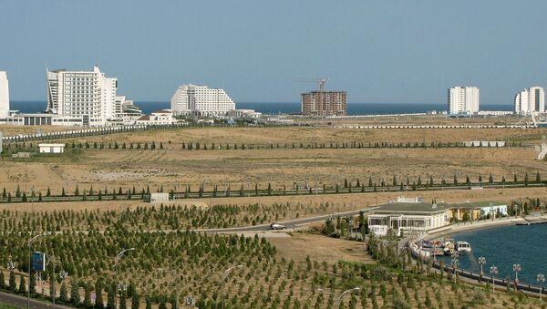 Курорт Аваза в Туркменистане, архивное фото - Sputnik Таджикистан