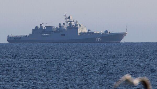 Сторожевой корабль ВМФ России Адмирал Макаров, архивное фото - Sputnik Таджикистан