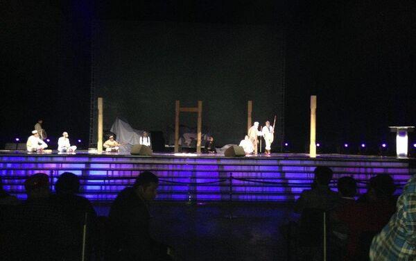 Спектакль Даври Орифин в честь 80-летия Ага-Хана IV - Sputnik Таджикистан