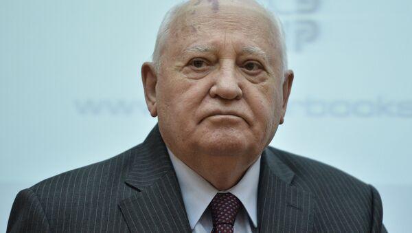 Бывший президент СССР Михаил Горбачев, архивное фото - Sputnik Таджикистан