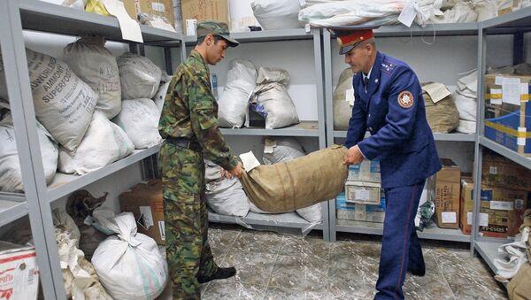 В хранилище вещественных доказательств по делам о контрабанде, архивное фото - Sputnik Таджикистан