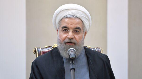 Президент Исламской Республики Иран Хасан Роухани, архивное фото - Sputnik Таджикистан