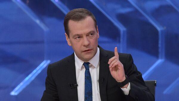 Председатель правительства РФ Дмитрий Медведев, архивное фото - Sputnik Таджикистан
