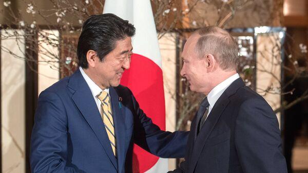 Официальный визит президента РФ В. Путина в Японию. День второй - Sputnik Таджикистан