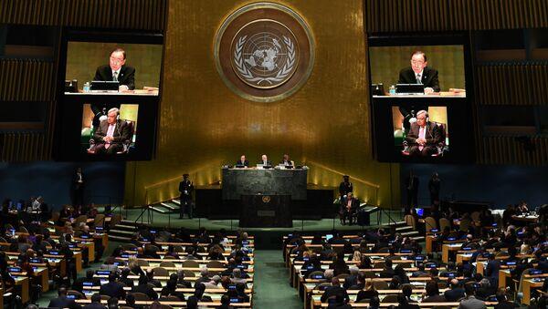Сессия Генеральной Ассамблеи ООН, архивное фото - Sputnik Таджикистан