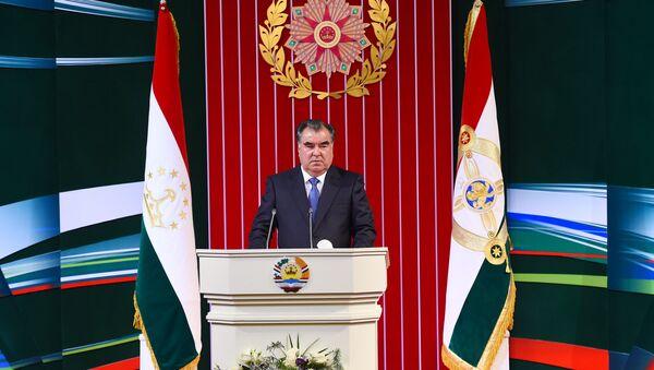 Послание президента Таджикистана Эмомали Рахмона парламенту - Sputnik Тоҷикистон