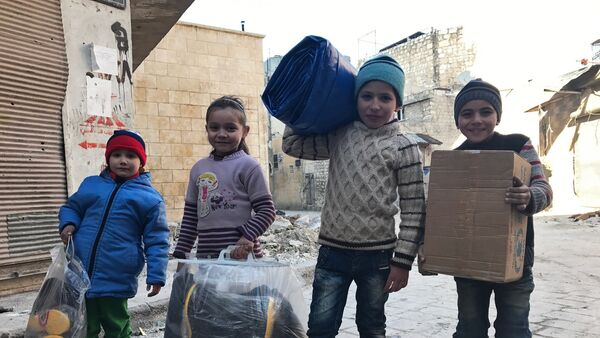 Ситуация в Алеппо, архивное фото - Sputnik Таджикистан