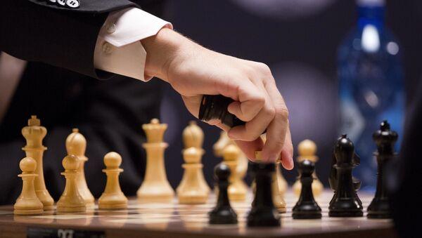 Турнир по шахматам, архивное фото - Sputnik Таджикистан