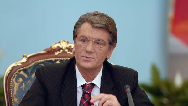 Бывший президент Украины Виктор Ющенко, архивное фото - Sputnik Таджикистан