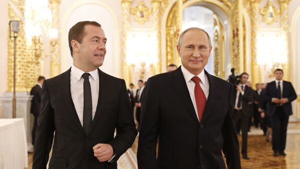 Ежегодное послание президента РФ В. Путина Федеральному Собранию - Sputnik Таджикистан