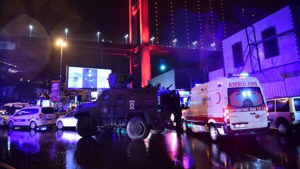 Теракт в Стамбуле - Sputnik Таджикистан