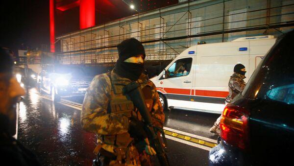Полиция Турции - Sputnik Таджикистан