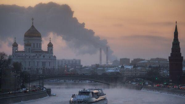 Аномальные морозы в Москве - Sputnik Таджикистан