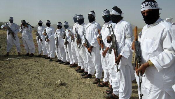 Боевики террористической организации Талибан, архивное фото - Sputnik Тоҷикистон
