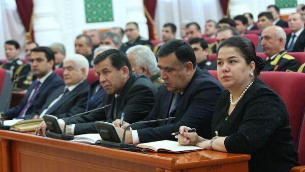 Заседание парламента Таджикистана - Sputnik Тоҷикистон