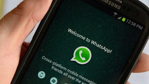 Мобильное приложение WhatsApp, архивное фото - Sputnik Таджикистан