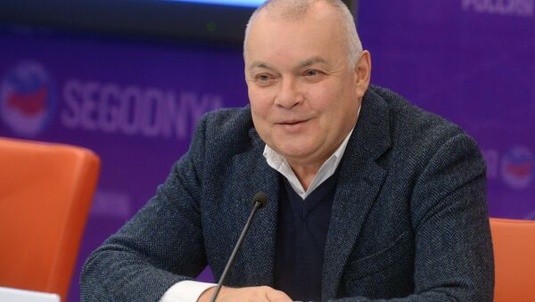 Генеральный директор МИА Россия сегодня Дмитрий Киселев, архивное фото - Sputnik Таджикистан